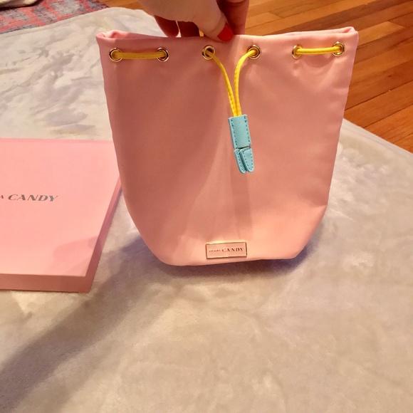 2809d0bde6 Prada Candy SUGAR POP Drawstring Bucket Satchel NWT